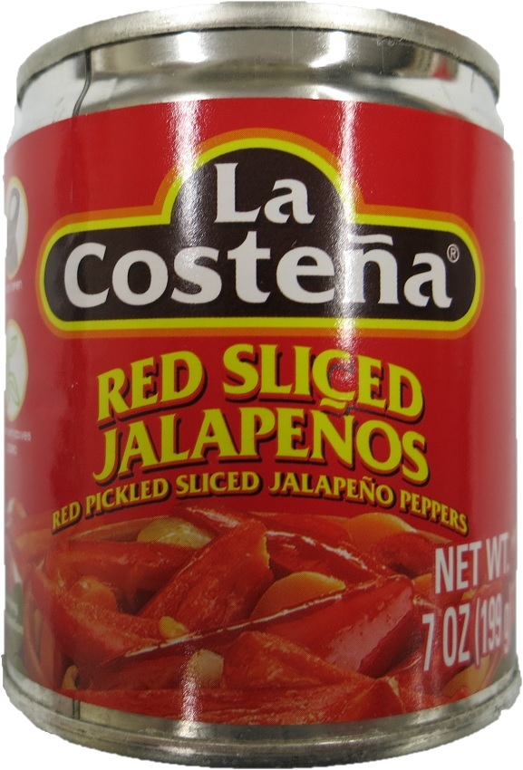 La Costena – Red Sliced Jalapenos 199g Brutto / 140g Netto
