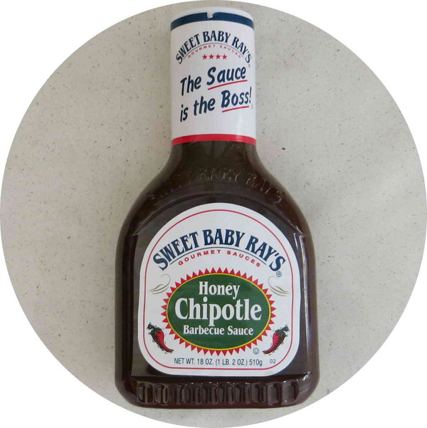Sweet Baby Ray`s Honey Chipotle Barbecue Sauce 510g