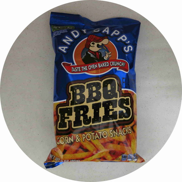 Andy Capp`s BBQ Fries 85g
